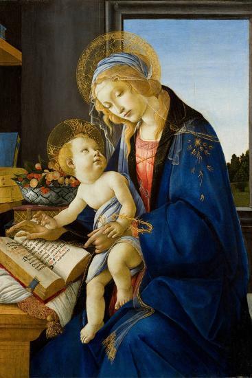 Madonna of the Book (Madonna Del Libr), 1480-Sandro Botticelli-Giclee Print