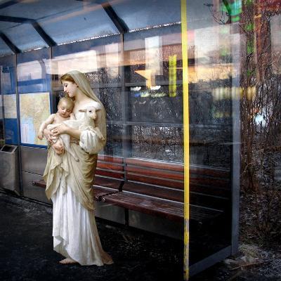 Madonna of the Bus-Stop, 2008-Trygve Skogrand-Giclee Print