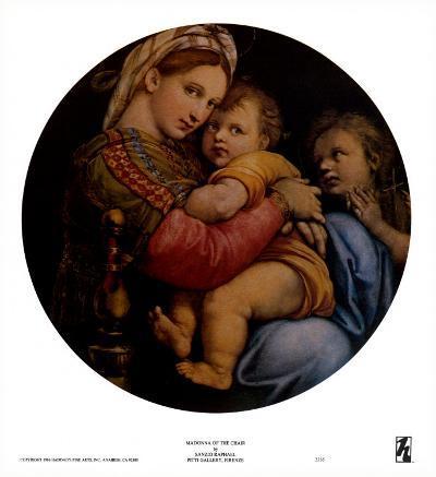 Madonna of the Chair-Raphael-Art Print
