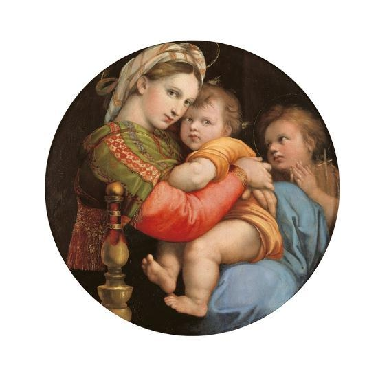Madonna of the Chair-Raphael-Art Print