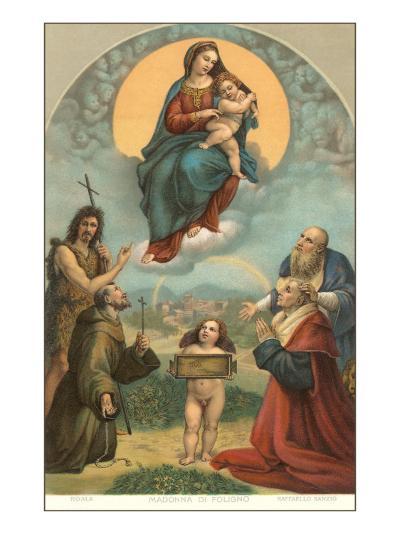 Madonna of the Foligno by Raphael, Rome--Art Print