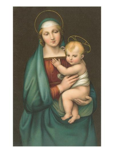 Madonna of the Granduca by Raphael, Florence--Art Print