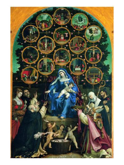 Madonna of the Rosary--Giclee Print