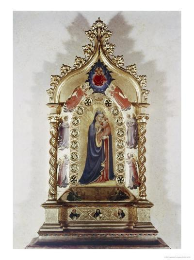 Madonna of the Stars-Fra Angelico-Giclee Print