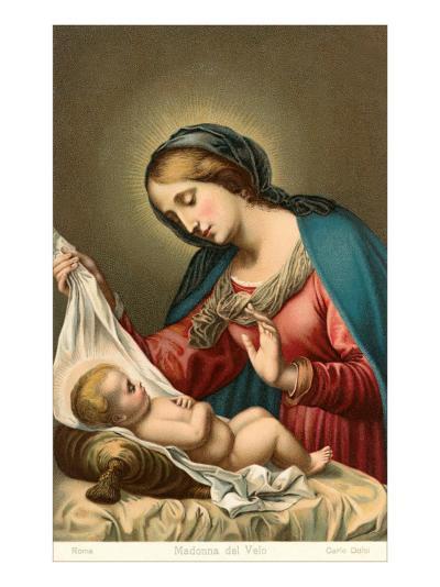 Madonna of the Veil--Art Print