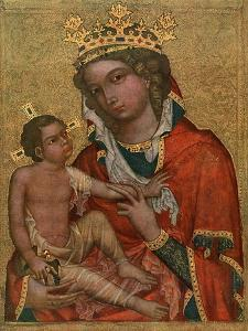 Madonna of Veveri, C1350