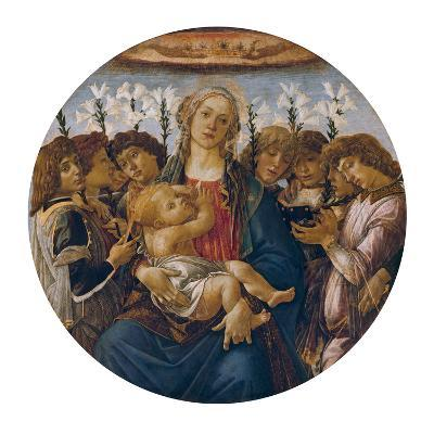 Madonna with Child and Singing Angels, about 1477-Sandro Botticelli-Giclee Print