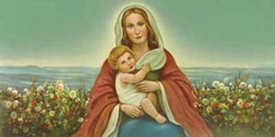 Madonna with Child-Donaldini-Art Print