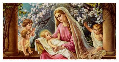 Madonna with Child-Giovanni-Art Print