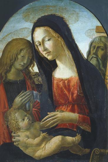 Madonna with Child-Neroccio De' Landi-Giclee Print