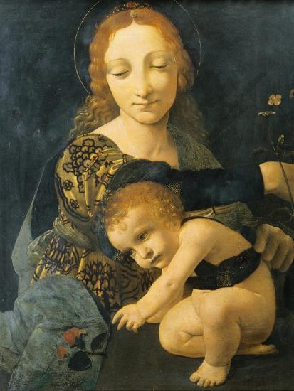 Madonna with Child--Giclee Print