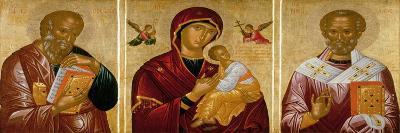 Madonna with Saints John the Evangelist and Nicholas-Rico Da Candia-Giclee Print