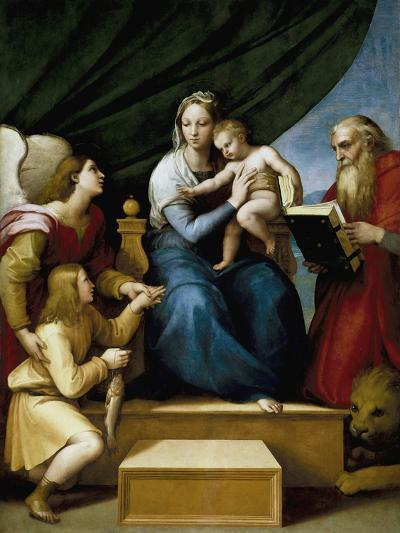 Madonna with the Fish-Raphael-Giclee Print