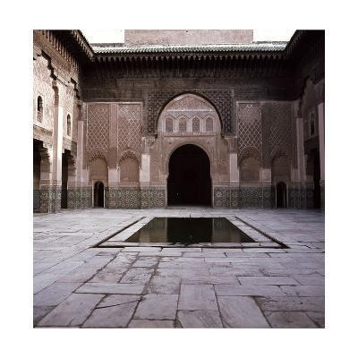 Madrasa Ben Youssef--Giclee Print