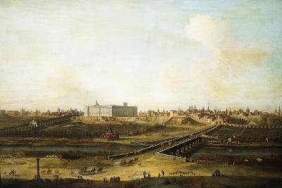Madrid and the Palacio Real from the West Bank of the Manzanares, 1752-53-Antonio Joli-Giclee Print