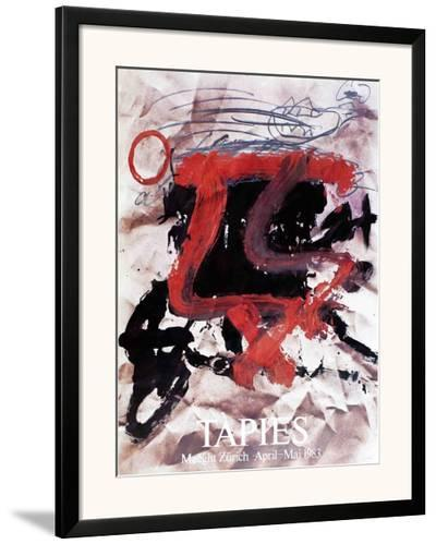 Maeght Zurich-Antoni Tapies-Framed Art Print