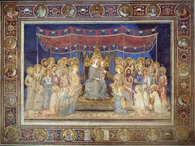 Maestà, 1315-1321-Simone Di Martini-Giclee Print