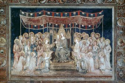 Maesta, 1315-Simone Martini-Giclee Print