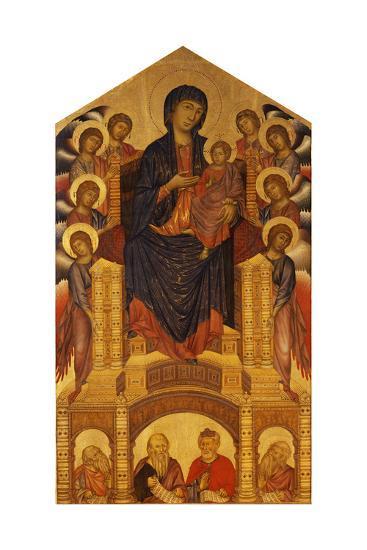 Maesta of Santa Trinita, C. 1280-Giovanni Cimabue-Giclee Print