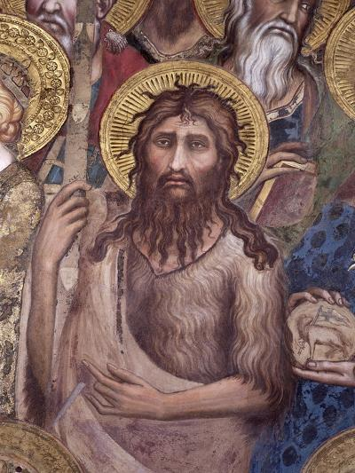 Maesta: St. John the Baptist, 1315-Simone Martini-Giclee Print