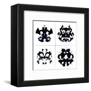An Image Of The Rorschach Test Ink Blots by magann