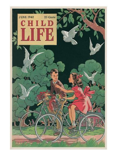 Magazine Cover, Child Life--Art Print