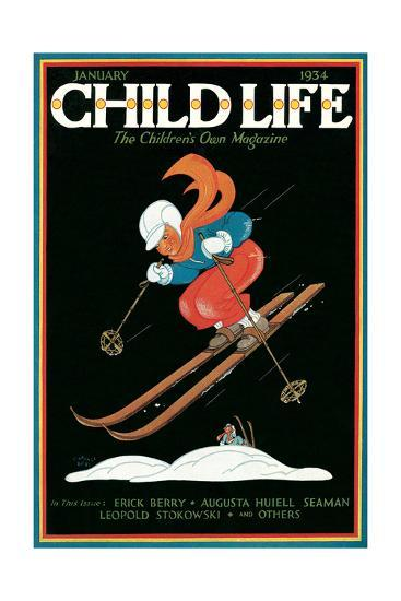 Magazine Cover, Child Life--Giclee Print