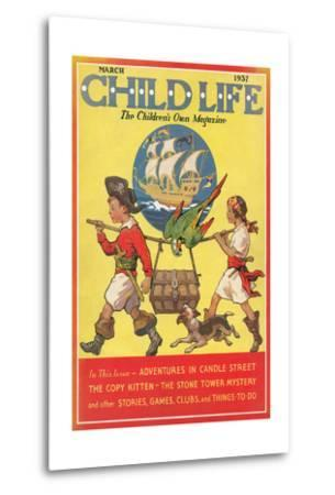 Magazine Cover, Child Life