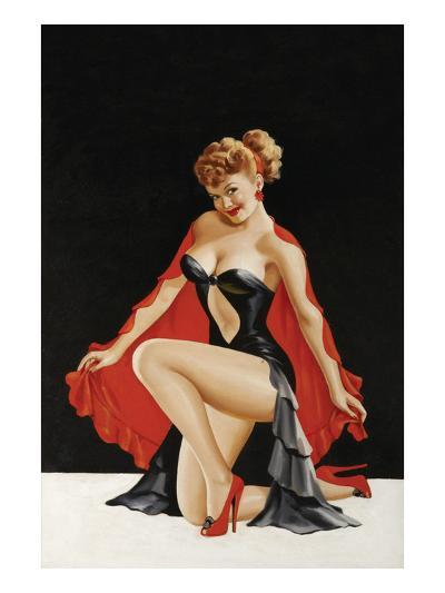 Magazine Cover; Little Red Cape-Peter Driben-Art Print
