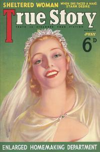 Magazine Cover, True Story