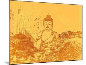 Warm Buddha by Magda van der Kleij