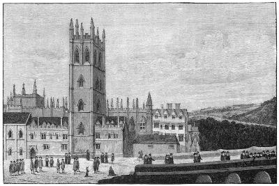 Magdalen College, Oxford, 17th Century--Giclee Print