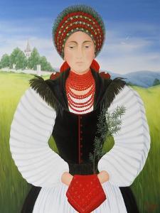 Transylvanian Bride by Magdolna Ban