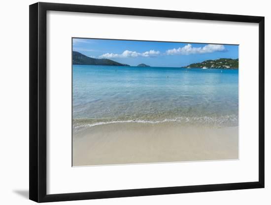 Magens Bay Beach, St. Thomas, US Virgin Islands, West Indies, Caribbean, Central America-Michael Runkel-Framed Photographic Print