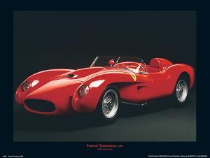 Ferrari Testarossa, 1958 (3/4 view) by Maggi & Maggi