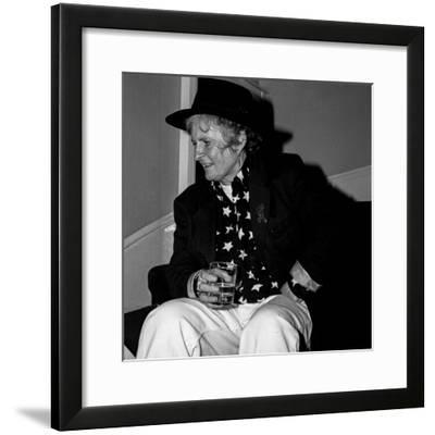Maggie Hambling, Polish Club, South Kensington--Framed Photographic Print