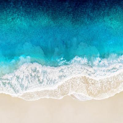 Aqua Ocean Waves II by Maggie Olsen