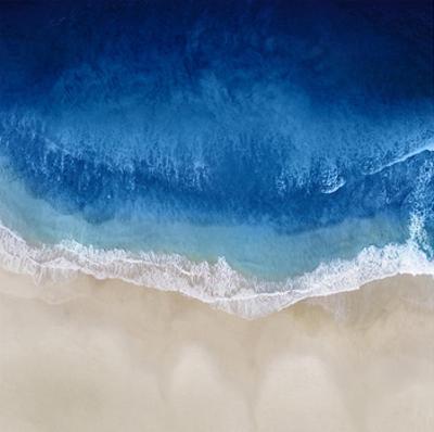 Indigo Ocean Waves II by Maggie Olsen