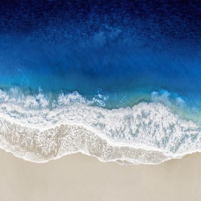 Indigo Ocean Waves III by Maggie Olsen