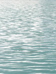 Ocean Current Aqua I by Maggie Olsen