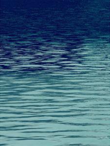 Ocean Current Blue I by Maggie Olsen