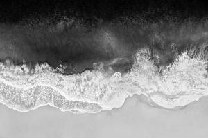 Waves in Black and White by Maggie Olsen