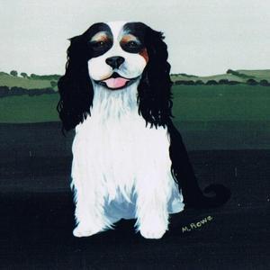 Cavalier King Charles, 1991 by Maggie Rowe
