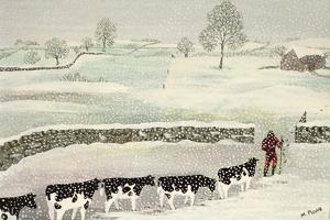 Cotswold: Winter Scene by Maggie Rowe