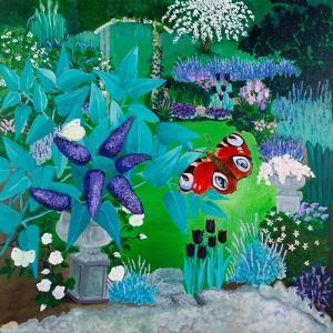 Mauve Garden,2013 by Maggie Rowe