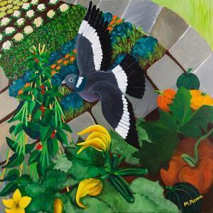 Veggie Garden, 2013 by Maggie Rowe