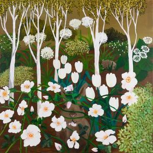 White Garden, 2013 by Maggie Rowe