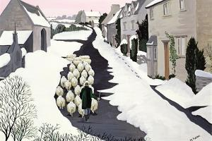 Whittington in Winter by Maggie Rowe