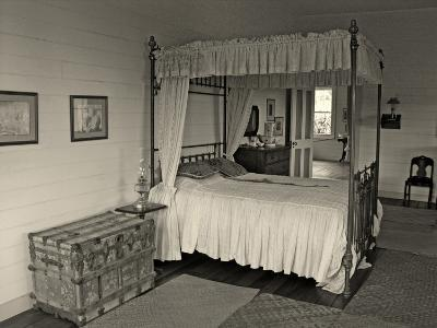 Maggie's Bedroom, Villa Vailima, Apia, Samoa--Photographic Print