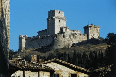 Maggiore Fortress, Medieval Origin, Assisi, Umbria, Italy--Photographic Print